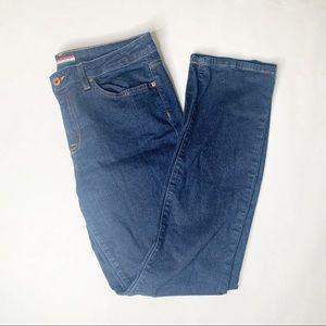 Tommy Hilfiger Straight Leg Dark Wash Jeans 12